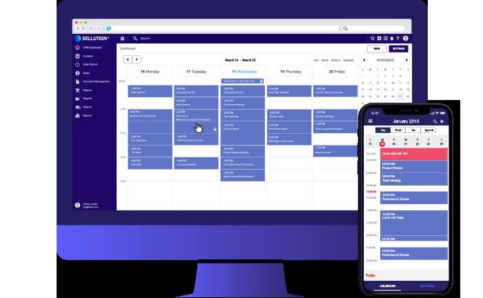 Online Calendar Integration for CRM   Sellution CRM